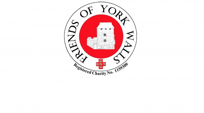 Friends of York Walls becomes Registered Charity Number 1,159,300