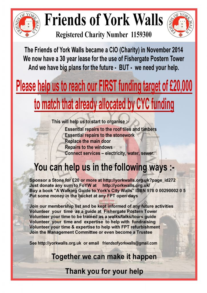 FOYW Fundraising Poster 2017